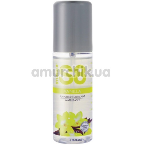 Оральный лубрикант Stimul8 Flavored Lube - ваниль, 125 мл