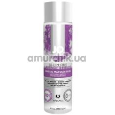 Массажный лубрикант JO Sensual Massage Lavender - лаванда, 120 мл - Фото №1
