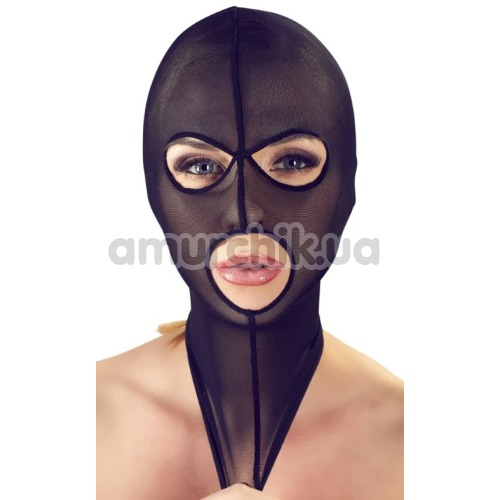 Маска Bad Kitty Naughty Toys Head Mask, черная