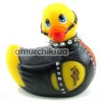 Клиторальный вибратор I Rub My Duckie Bondage Travel-Size, черно-желтый - Фото №1