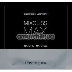 Лубрикант MixGliss Max Nature, 4 мл - Фото №1