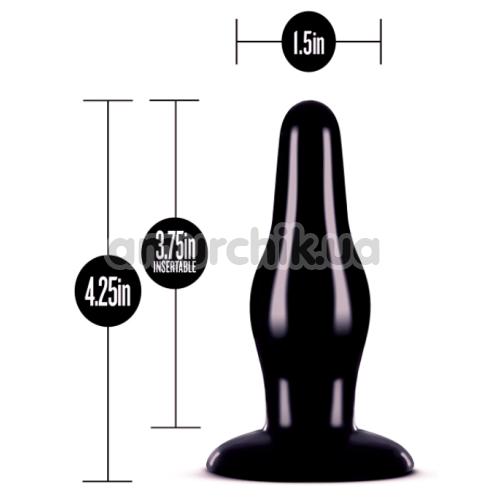 Анальная пробка Anal Adventures Pleasure Plug, черная