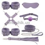 Бондажный набор sLash BDSM Bondage Set, фиолетовый - Фото №1