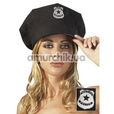 Фуражка полицейского Special Police, черная - Фото №1