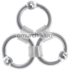 Эрекционные кольца Rascal Tri-Master - Фото №1