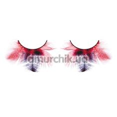 Ресницы Red-Purple Feather Eyelashes (модель 622) - Фото №1