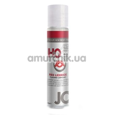 Оральный лубрикант JO H2O Black Licorice - красная лакрица, 30 мл - Фото №1