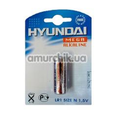 Батарейка Hyundai Mega Alkaline LR1, 1 шт - Фото №1
