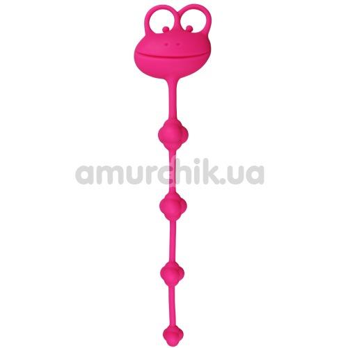 Анальная цепочка Lovetoy Psyches Premium Anal Beads, розовая - Фото №1