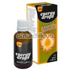 Купить Возбуждающие капли Ero Energy Drops Taurin&Guarana для мужчин и женщин, 30 мл