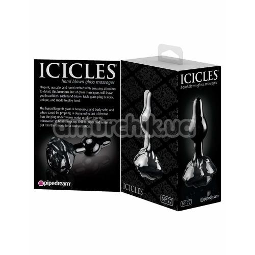 Анальная пробка Icicles No.77