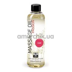 Массажное масло Shiatsu Passion Rosa - роза, 250 мл - Фото №1