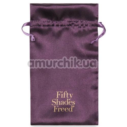 Клиторальный вибратор Fifty Shades Freed Desire Blooms, фиолетовый