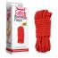Веревка Fetish Bondage Rope, красная - Фото №7