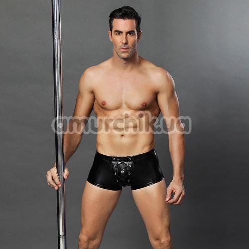 Трусы-боксеры мужские JSY 3692, чёрные
