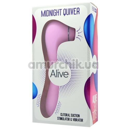 Симулятор орального секса для женщин Alive Midnight Quiver, розовый