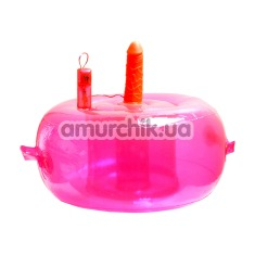 Сидение Любви Vibrating Ecstacy Lounge, розовое