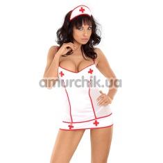 Костюм медсестры Tina: платье + чепчик - Фото №1