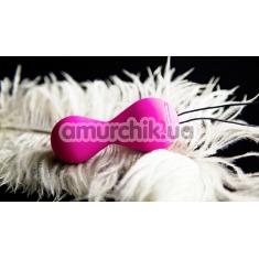 Вагинальные шарики Gballs 2 App - Petal Rose, розовые