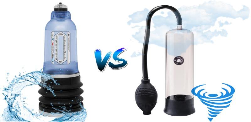 Вода против воздуха