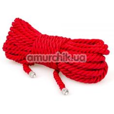 Веревка sLash Premium Silky 10м, красная - Фото №1