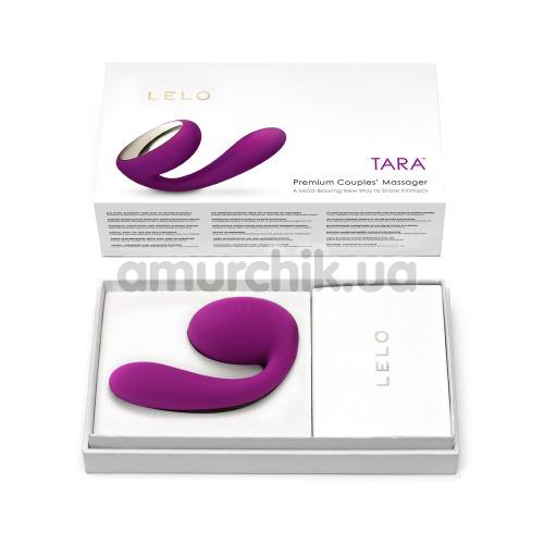 Вибратор Lelo Tara Deep Rose (Лело Тара), фиолетовый