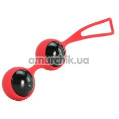 Вагинальные шарики Feminine Jewels, красные - Фото №1