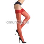 Чулки Gabriella Erotica Calze Classic, красные - Фото №1