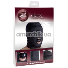 Маска с кляпом Fetish Collection Silence, чёрная