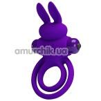 Виброкольцо Pretty Love Vibrant Penis Ring III, фиолетовое - Фото №1
