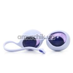 Купить Вагинальные шарики OVO L1, бело-фиолетовые