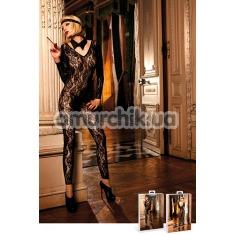 Комбинезон Leopard-Black Lace Bodysuit (модель B268) - Фото №1