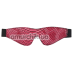 Маска Blaze Luxury Fetish Blindfold, розовая - Фото №1