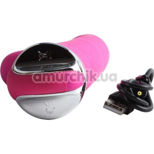 Вибратор Melody Woo Lush Rabbit, розовый