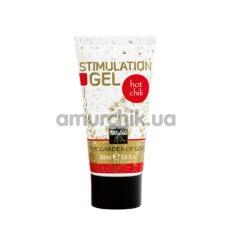 Купить Интимный гель для женщин Shiatsu Stimulating Gel - перец чили, 30 мл