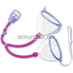 Вакуумная помпа для увеличения груди Twin Cup Breaster Sizer