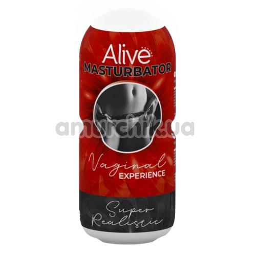 Мастурбатор Alive Vaginal Experience, телесный - Фото №1
