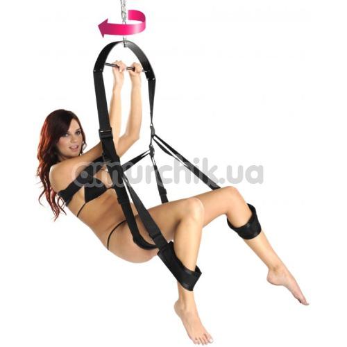 Секс-качели 360 Sex Swing, черные