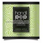Гель для массажа Sensuva Handipop Green Apple - зеленое яблоко, 6 мл - Фото №1