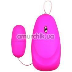 Виброяйцо M-Mello Mini Massager, розовое - Фото №1