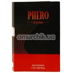 Туалетная вода с феромонами Phero Master для мужчин, 1 мл - Фото №1