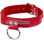 Ошейник sLash Ring of Humiliti, красный - Фото №1