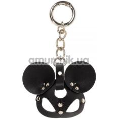 Брелок в виде маски sLash Mickey Mouse Smooth, черный - Фото №1