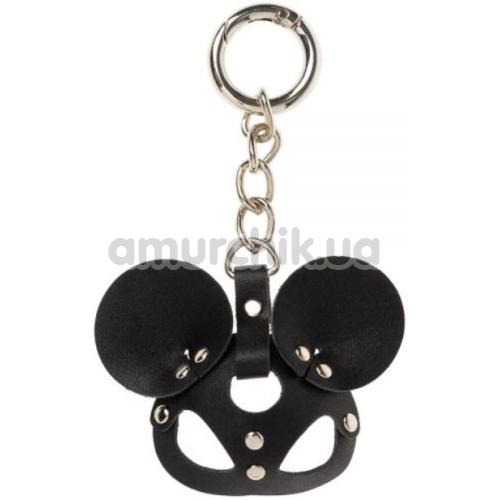 Брелок в виде маски sLash Mickey Mouse Smooth, черный