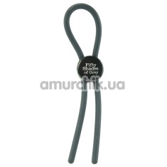 Эрекционное кольцо Fifty Shades of Grey Again and Again Adjustable Cock Ring - Фото №1