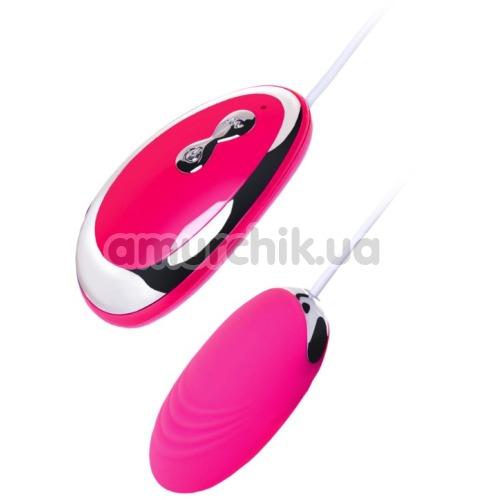 Виброяйцо A-Toys Vibrating Egg Costa, розовое - Фото №1