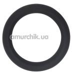 Эрекционное кольцо GK Power Cock Sweller No.4, черное - Фото №1