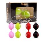 Вагинальные шарики Ben Wa Balls, в ассортименте - Фото №1