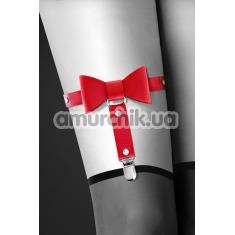 Подвязка Bijoux Pour Toi With Bow, красная - Фото №1