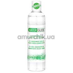 Массажный лубрикант Waterglide 2:1 Massage Gel & Aloe Vera Lubricant, 300 мл - Фото №1